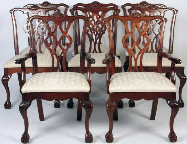 Mahogany table · Mahogany Chairs ... - Art Appraisal Services Auctioneer Ohio Art Antique Appraiser Estate